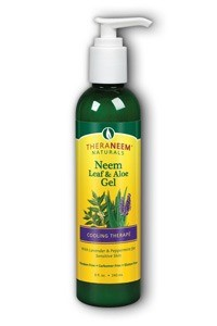 TheraNeem Leaf & Aloe Gel Lavender and MInt 8 oz