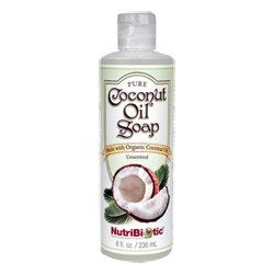Nutribiotic Coconut Oil Soap Unsent., 240ml