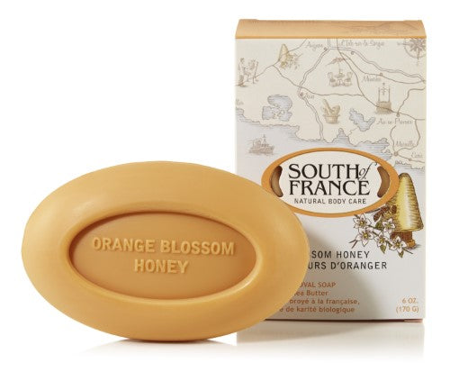 South Of France Natural Soap Orange Honey, 170g