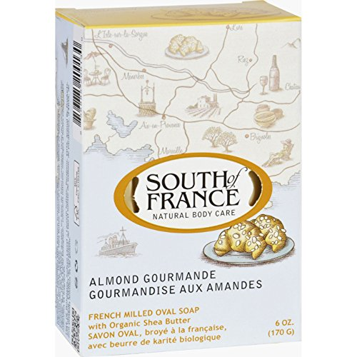 South Of France Natural Soap Almond, 170g