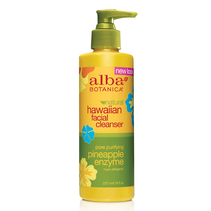 Alba Botanica Pineapple Enzyme Facial Cleanser 237 ml