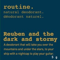 Routine Reuben and the Dark and Stormy-MINI 5g