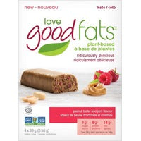 Love Good Fats Peanut Butter and Jam 4 x 39g
