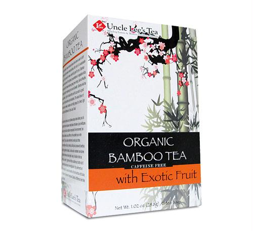 Uncle Lee's Tea Organic Bamboo Tea w/ Exotic Fruit 18 bags
