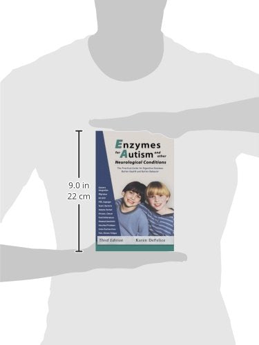 Enzymedica Enzymes for Autism Book