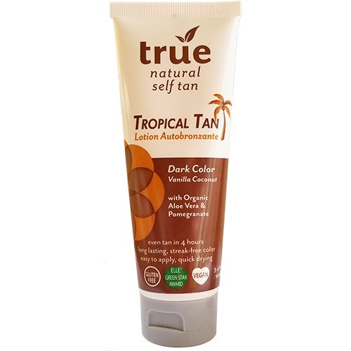 True Natural Self Tan Lotion Tropical Tan (Dark) 3.4oz