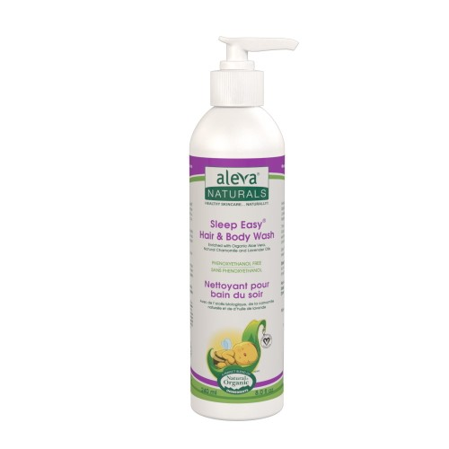 Aleva Naturals Sleep Easy Hair & Body Wash 240 ml