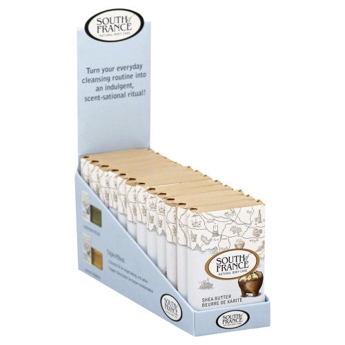 South Of France Travel Soap Shea Butter, 12bars