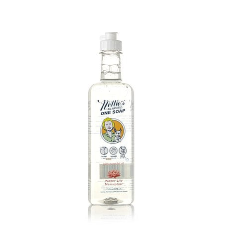 Nellie's One Soap, Water Lilly, 570ml