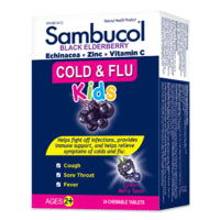 Sambucol Sambucol Cold & Flu Kids Chewables 24