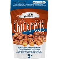 Three Farmers Roasted Chickpeas - Barbecue 120g