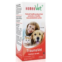 HomeoVet Homeopathic Drops TraumaVet 30 ml