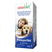HomeoVet Homeopathic Drops TransportVet 30ml