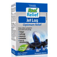 Homeocan Real Relief JetLag tablets 60 tabs