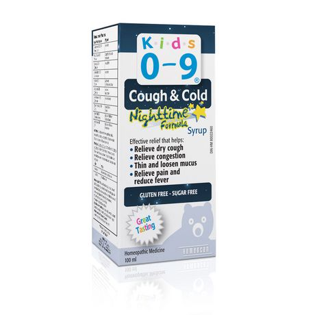 Homeocan KIDS 0-9 Cough & Cold Nighttime 100 ml