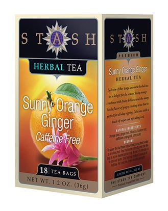 Sale Sunny Orange Ginger Tea 18bg