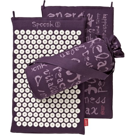 Spoonk Space Hemp Plum Purple Acupres. Mat