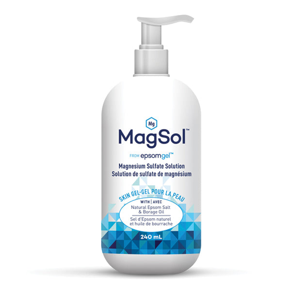 Epsomgel MagSol™ - Magnesium Sulfate Solution, 240ml