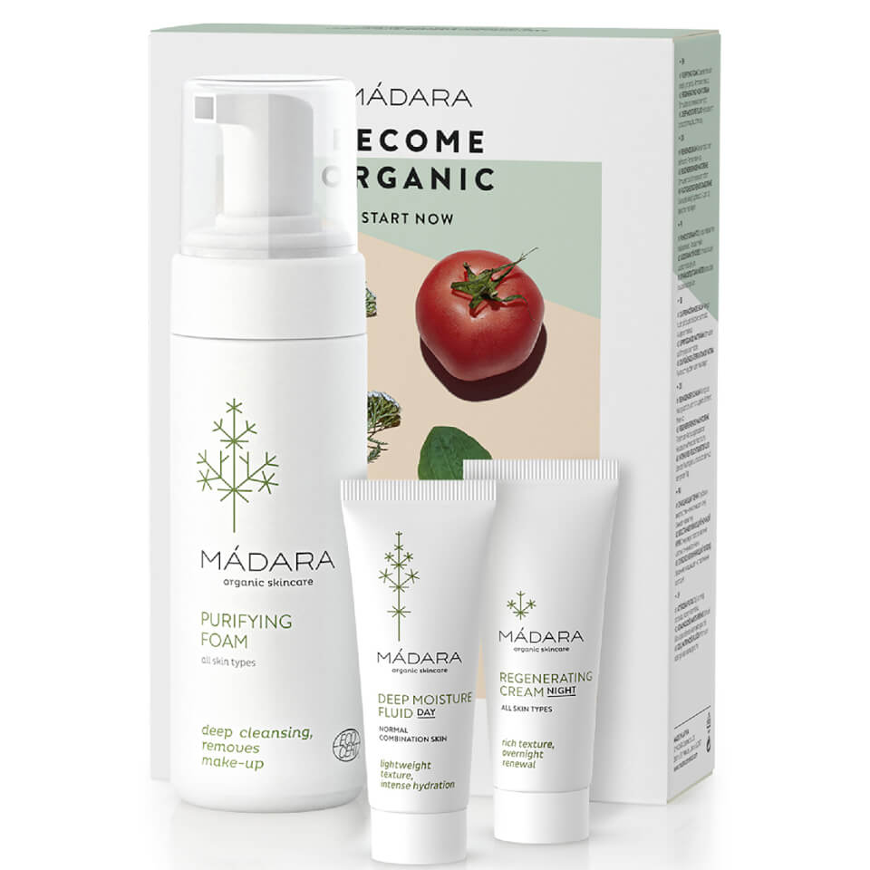 Madara by True Natural BECOME ORGANIC Deep Moisture Set 1 set