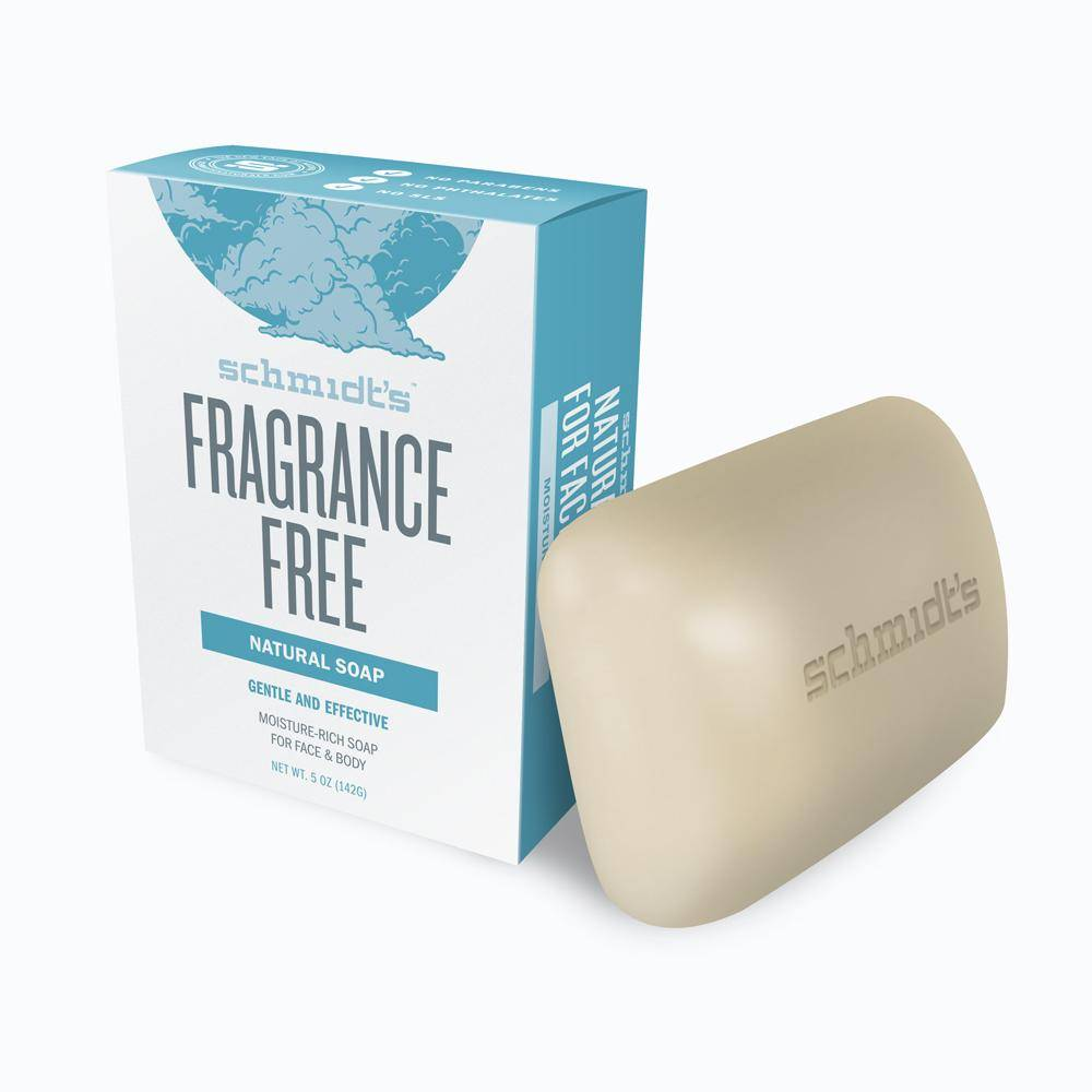 Schmidt's Naturals Fragrance Free Bar Soap 5oz