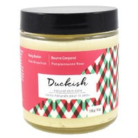 Duckish Natural Skin Care Pink Grapefruit Body Butter 116g