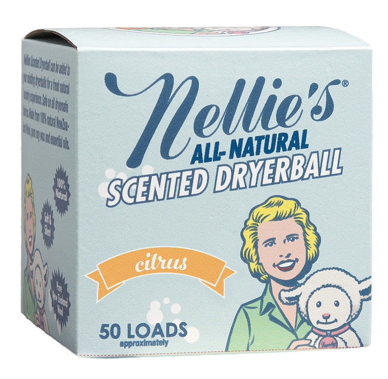 Nellie's Wool Dryerball (Citrus)