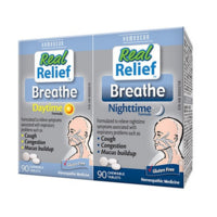 Homeocan Breathe Daytime / Nighttime 2 x 90 tablets