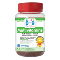 Homeocan Kids 0-9 MultiVitamins Gummies 50 gummies