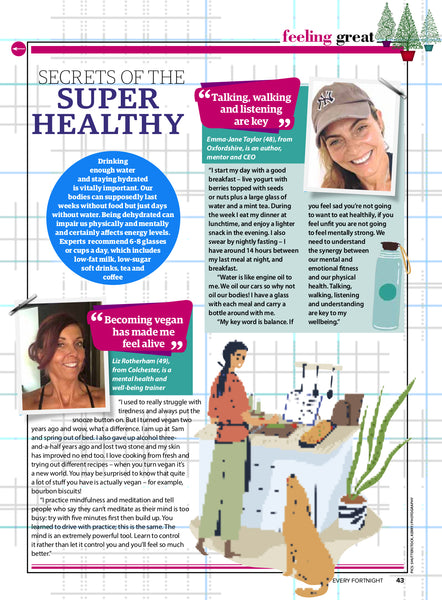 "SECRETS OF THE ""SUPER HEALTHY"""