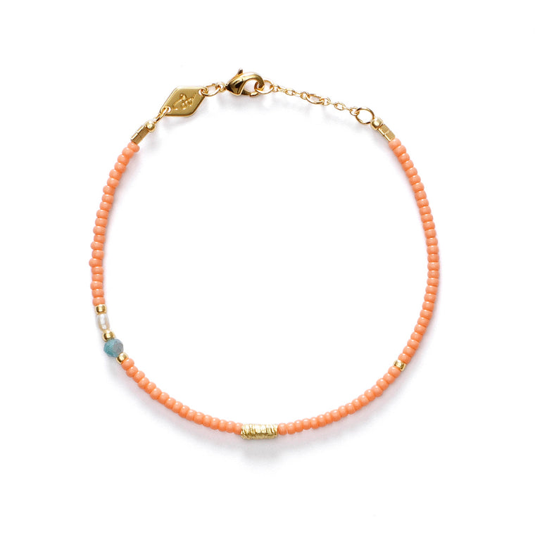 Anni Lu - Wave chaser bracelet - peaches