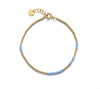 Anni Lu - Asym bracelet - light blue