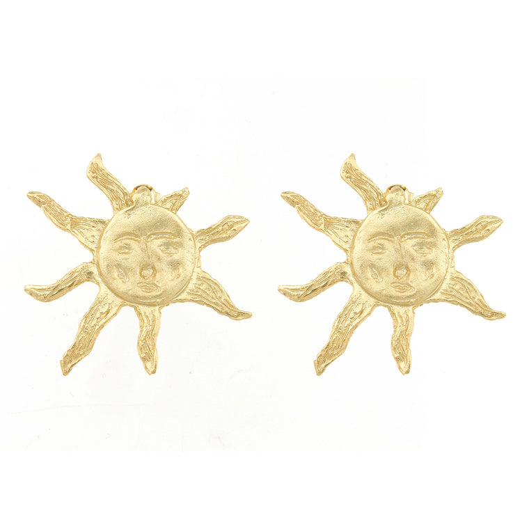 Cleopatra's Bling - Apollo Sun Earrings