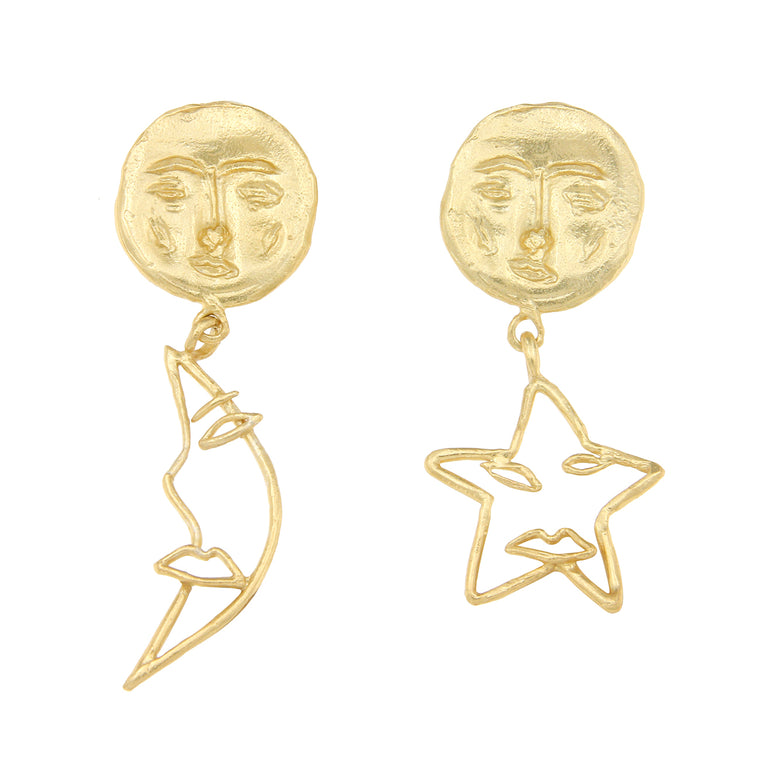 Cleopatra's Bling - Astrology Earrings
