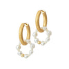 Anni Lu - Ring of pearls earrings
