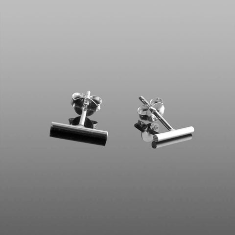 Sterling Silver rectangular stud earrings ***FREE DELIVERY***