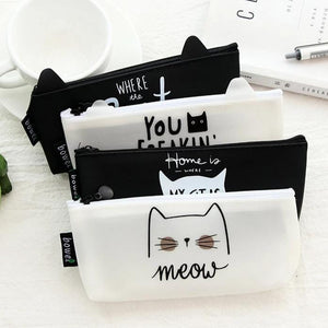 Cat-Shaped Storage Pouches