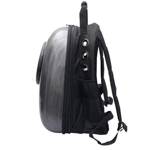 Side View Capsule Cat Backpack Carrier