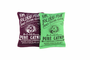 Dr. Pussums Catnip Sacks