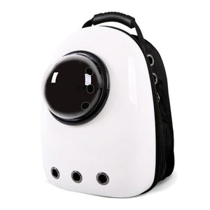 White Capsule Cat Backpack Carrier
