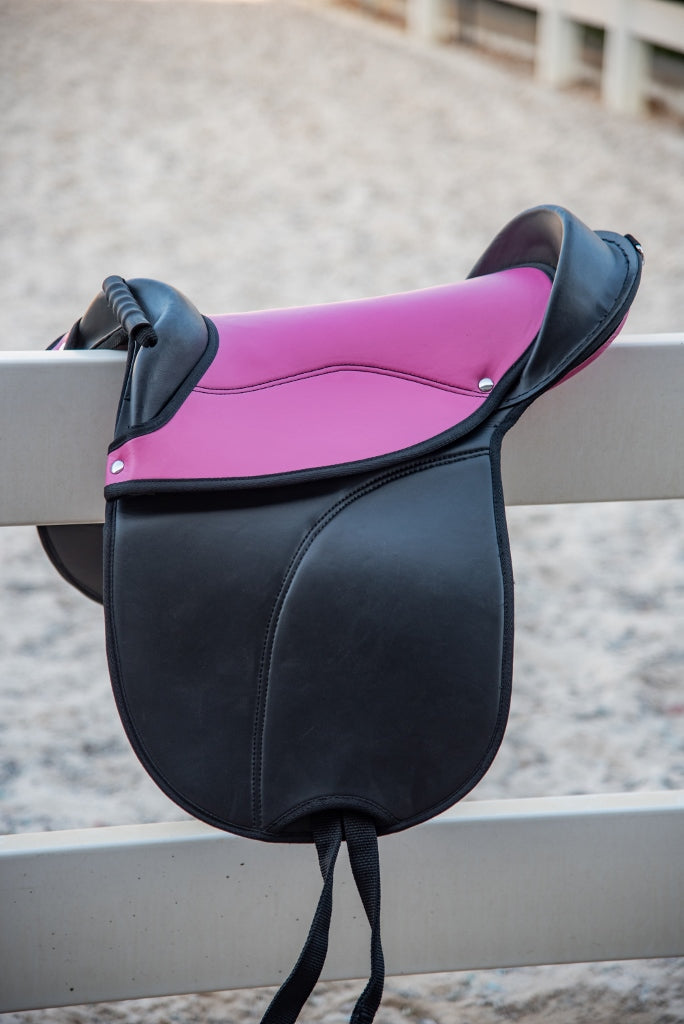 Pink Pony Treeless Saddle