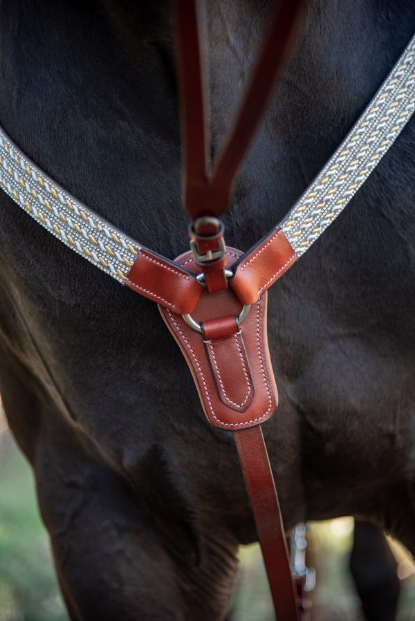 Tan Leather Breastplate