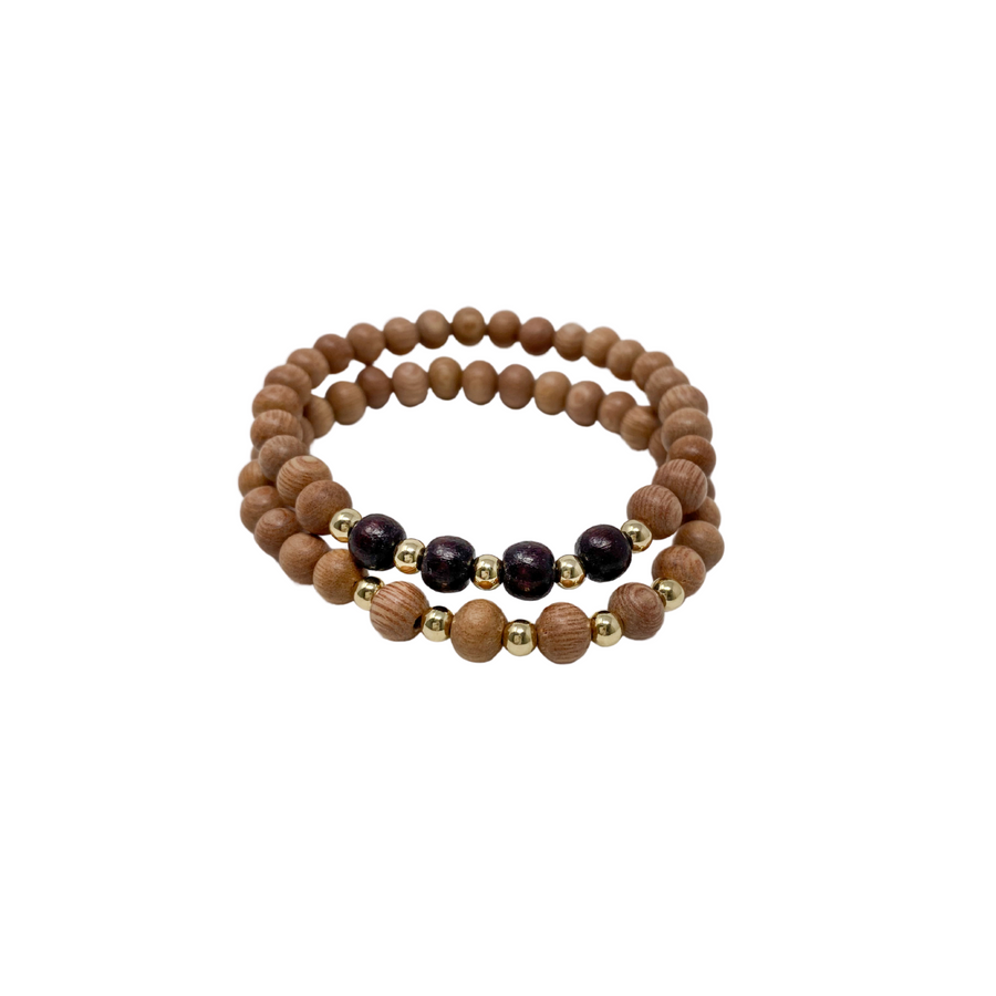 delicate | the ava | winter plum | rosewood stack