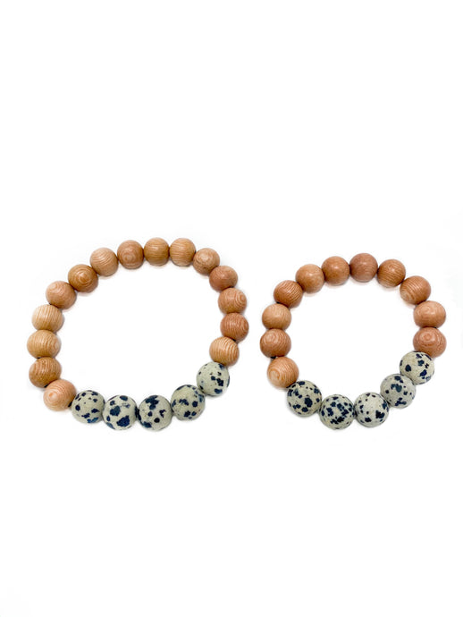 rosewood beaded bracelets | mommy & me | two
