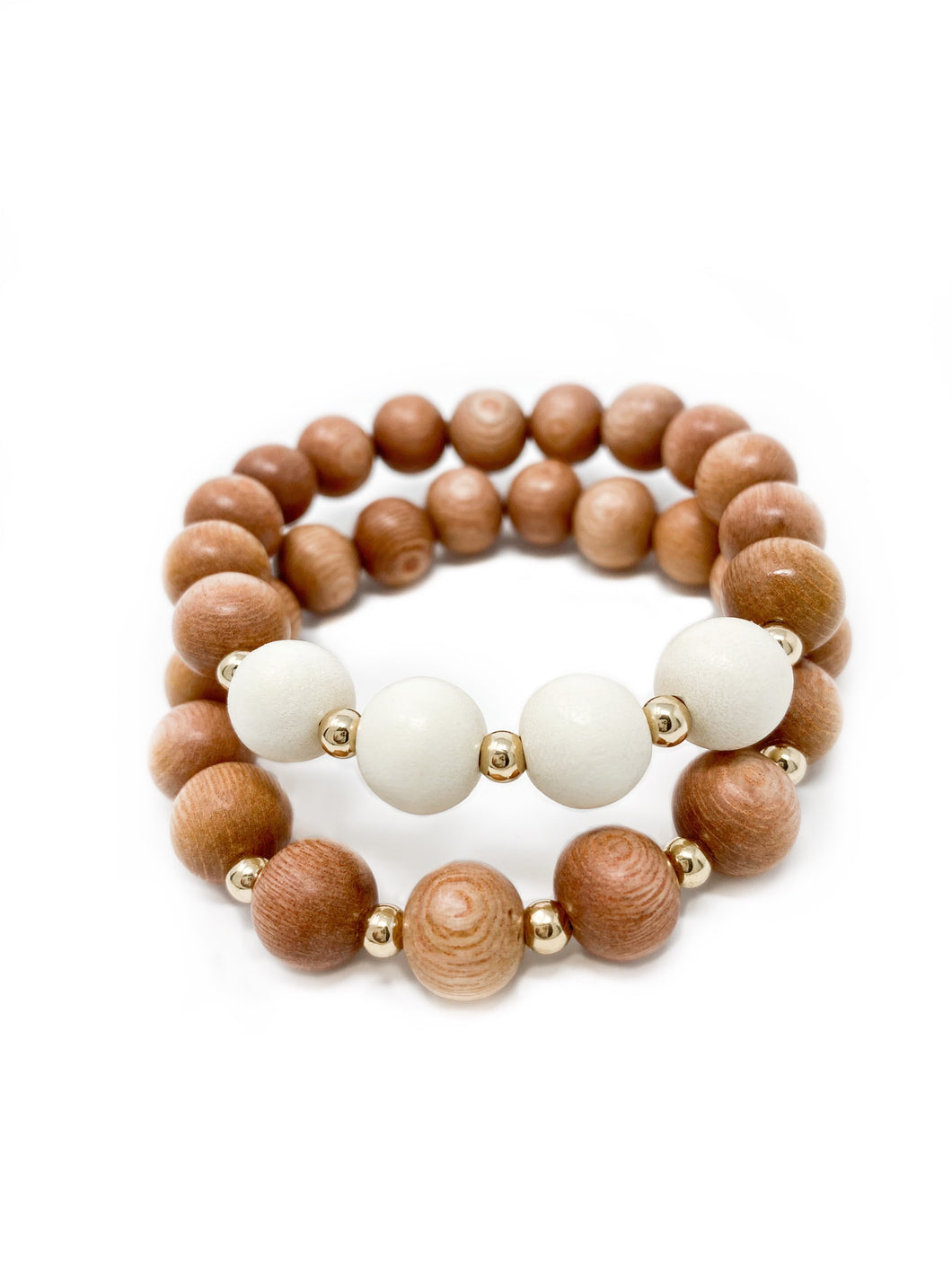 the ava | cream | rosewood stack