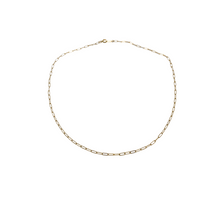 Load image into Gallery viewer, the sage | paperclip chain necklace | 14k gold filled | 16""