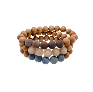 the callie | rosewood stack