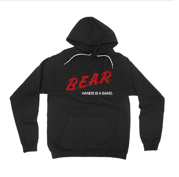 B.E.A.R Black Pullover Hoodie + Fake Tunes Download