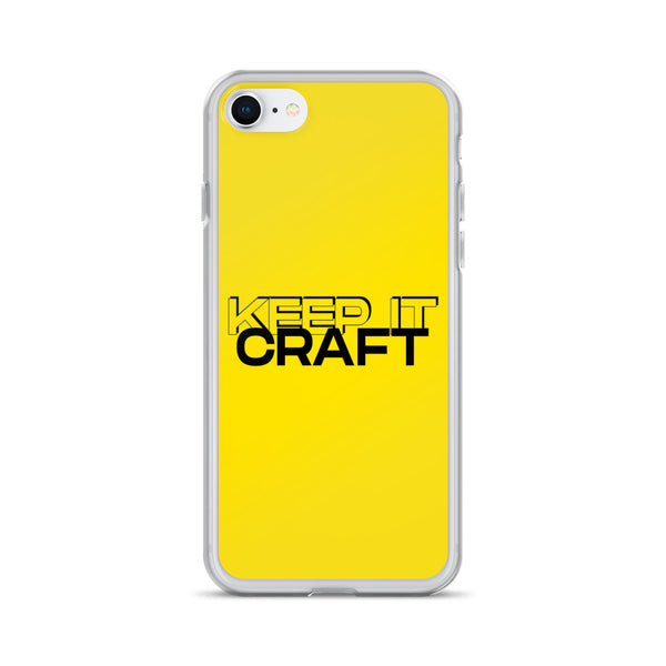 """Keep It Craft"" iPhone Case"