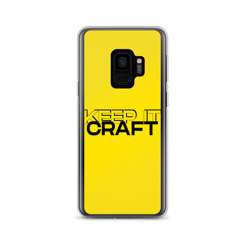 """Keep It Craft"" Galaxy Case"