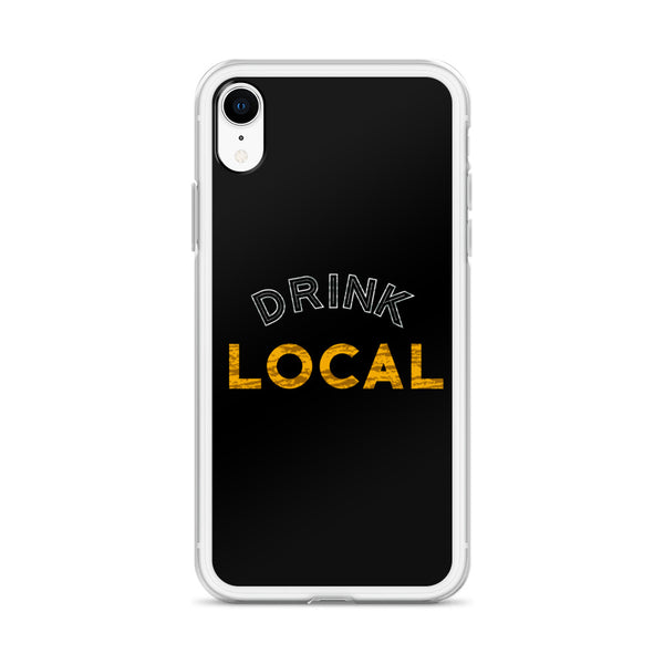 """Drink Local"" iPhone Case"